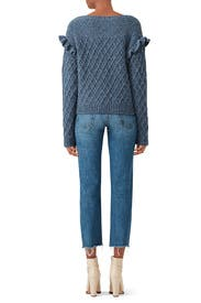 Blue Betty Sweater by La Vie Rebecca Taylor