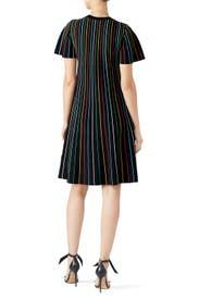 Black Stripe Shift by RED Valentino