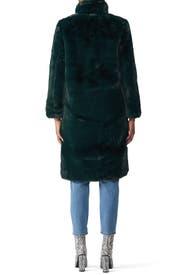 Laure Faux Fur Coat by Apparis