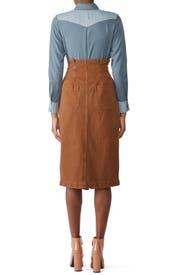 Savannah Belted Skirt by Free People
