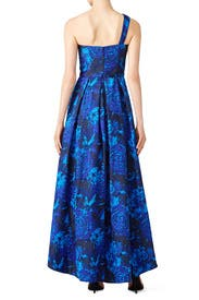Cobalt High Low Gown by LM Collection