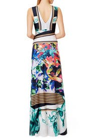 Liquid Jade Maxi Dress by Clover Canyon