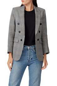 Printed Bexley Dickey Blazer by Veronica Beard
