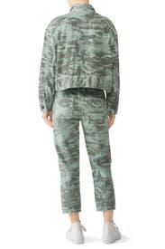 Camo Army Patch Jacket by AMO