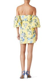 Balloon Sleeve Off The Shoulder Dress by J.O.A.