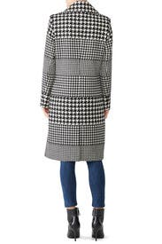 Multi Houndstooth Coat by NVLT