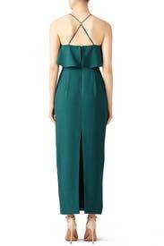 Teal Rory Dress by STYLESTALKER