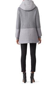 Grey Avery Coat by SOIA & KYO