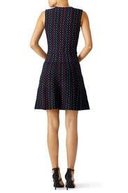 Multi Stripe Knit Dress by kate spade new york