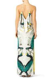 Etini Ruffle Gown by Temperley London