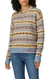 Printed Polo Sweater by Polo Ralph Lauren