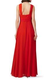 Colorblock Halter Gown by Jill Jill Stuart