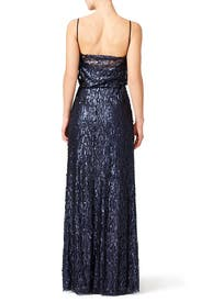 Midnight Courtney Gown by Slate & Willow