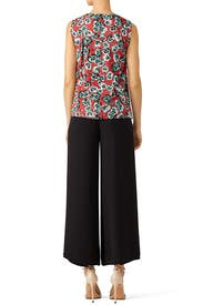 Multi Floral Top by Marni