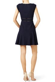 Navy Sailor Dress by Rebecca Taylor