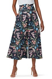 Printed Cotton Culottes by Peter Pilotto