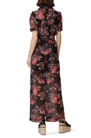 Hibiscus Islands Jumpsuit by Anna Sui
