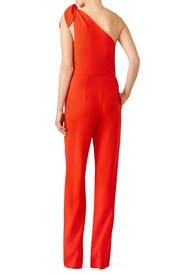 Red Knot Jumpsuit by Diane von Furstenberg