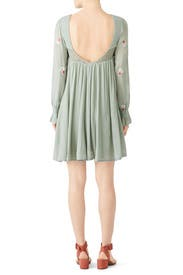 Mint Mohave Mini Dress by Free People