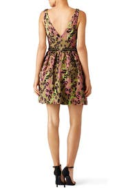 Arielle Leopard Dress by Marchesa Notte