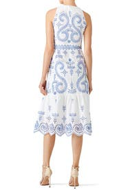 Floral Mariana Dress by Tory Burch