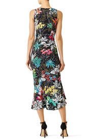 Floral Printed Kia Frill Dress by Peter Pilotto