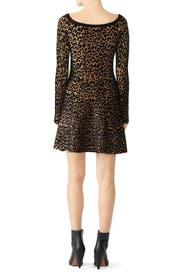 Leopard Roawn Dress by Ronny Kobo