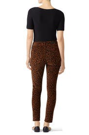 Leopard Affiar Corduroy Pants by Sanctuary