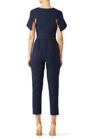 Navy Manhattan Jumpsuit by The Fifth Label