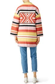 Aztec Kahlo Coat by Rebecca Minkoff