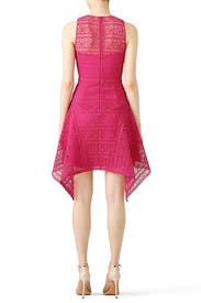 Magenta Lace Dress by Theia