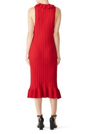 Pomodoro Knit Dress by ELLIATT