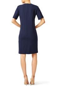 Milano Wool Pleated Dress by Nina Ricci