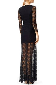 Modern Morticia Gown by ERIN erin fetherston