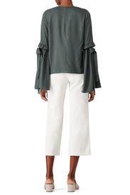 Tied Bell Sleeve Top by J.O.A.