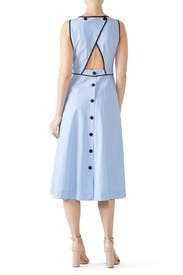 Button Back Stripe Dress by kate spade new york