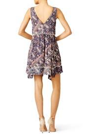 Asymmetrical Desert Print Dress by BB Dakota
