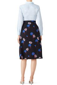Floral Grayson Skirt by Tanya Taylor