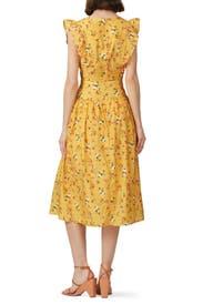Tansy Midi Dress by La Maison Talulah