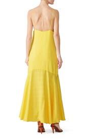 Yellow Diana Maxi by Mara Hoffman