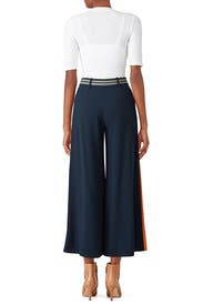 Striped Cady Culottes by Peter Pilotto