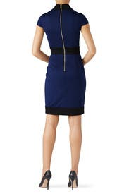 Colorblock Cap Sleeve Sheath by Alexia Admor
