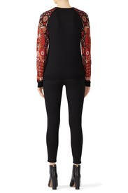 Cat Sleeve Sweater by Anna Sui