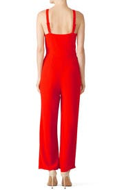 Red Hot Joelle Jumpsuit by Flynn Skye