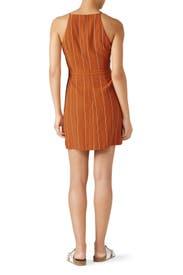 Bruna Pinstripe Dress by Greylin