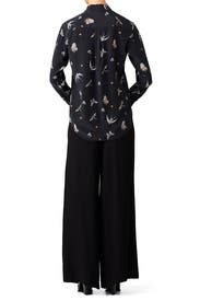Butterfly Leema Top by Equipment