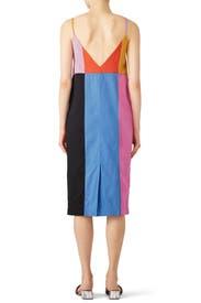 Rainbow Georgia Dress by Mara Hoffman