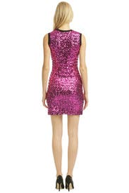 Pink Spotlight Dress by Versus by Versace