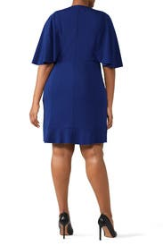 Blue Sherry Dress by Lauren Ralph Lauren