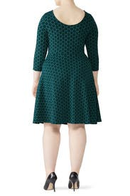Green Circle Dress by Leota